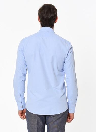 Altınyıldız Classics Klasik Uzun Kollu Gömlek Mavi